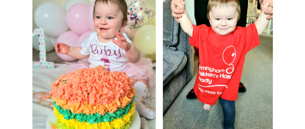 Tot Takes On Three Mile Charity Walk After Life-Saving Op