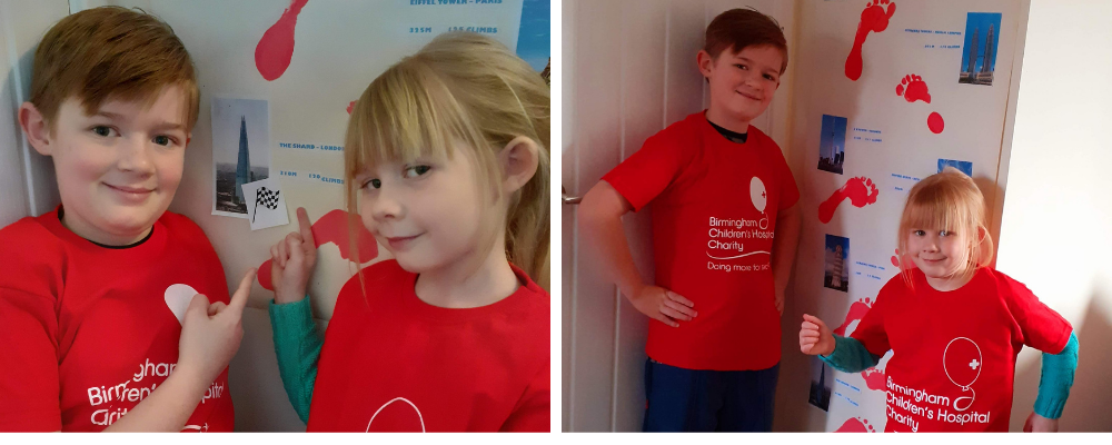 Siblings Step Up To Raise £530 For Sick Kids