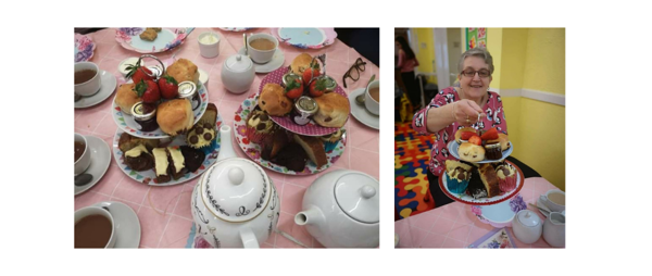 Nursery afternoon tea raises £300 for sick kids