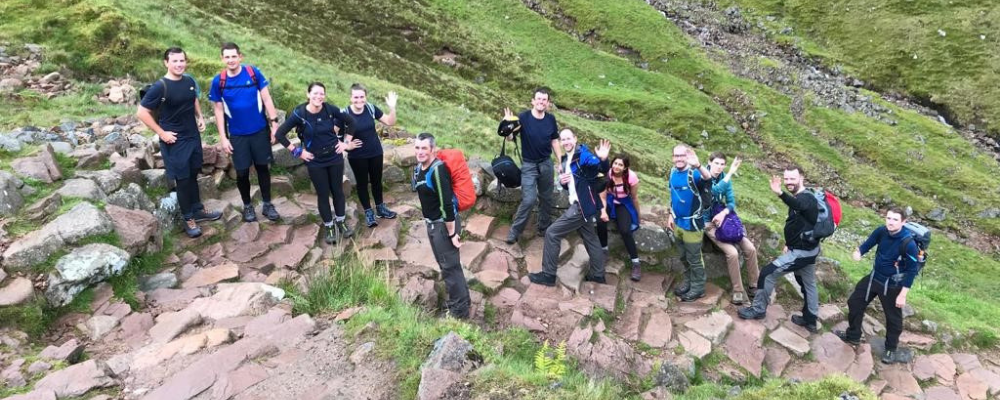 Colleagues Climb Highest Mountains For Our Charity