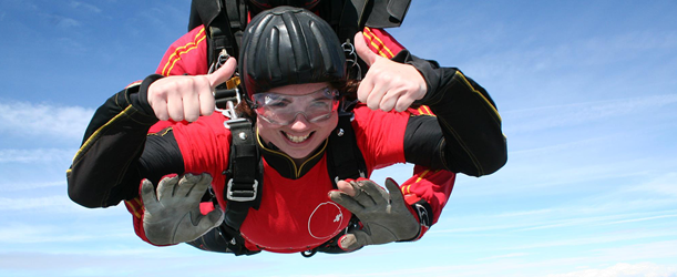 Tandem Skydive - March