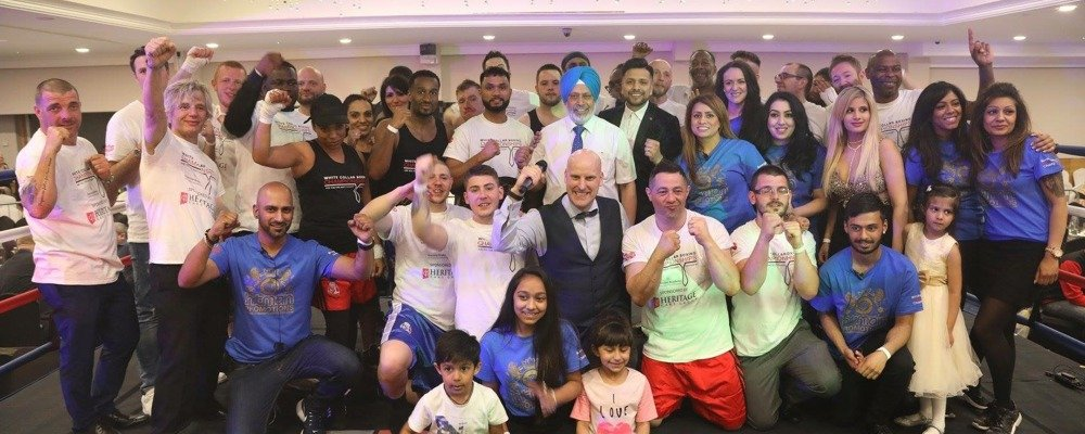 Kickboxer Champion Takes Another Swing at Fundraising