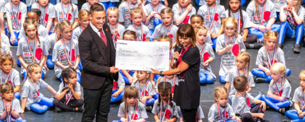 Claires Dance Company raise over £1,000 for our charity