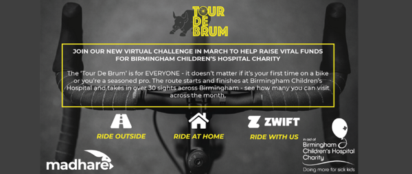 Madhare 'Tour De Brum' Virtual Cycling Challenge