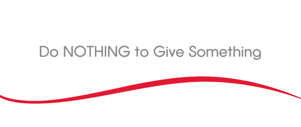 Do NOTHING to Give Something