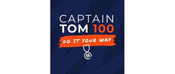 Take on the Captain Tom 100 Challenge and do more for our sick kids.