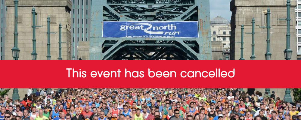 great north run cancelled